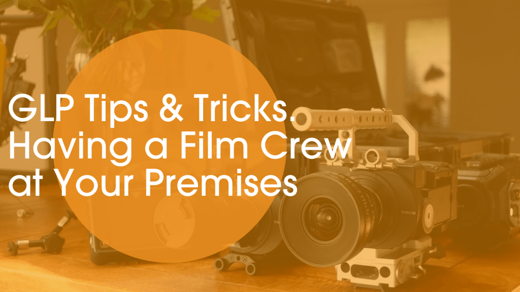 film crew in offices tips